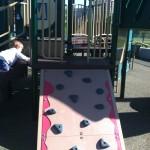 Climbing wall at Ben Brenman Park
