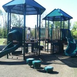 Play structure at Ben Brenman Park in Alexandria VA