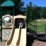 Slides at Ft Ward Park
