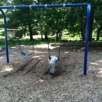 Swinging at Ft Ward Park