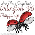 Arlington VA Playgroup & Moms Group Button