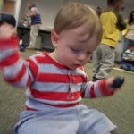 I'm shakin' eggs! At Music Together