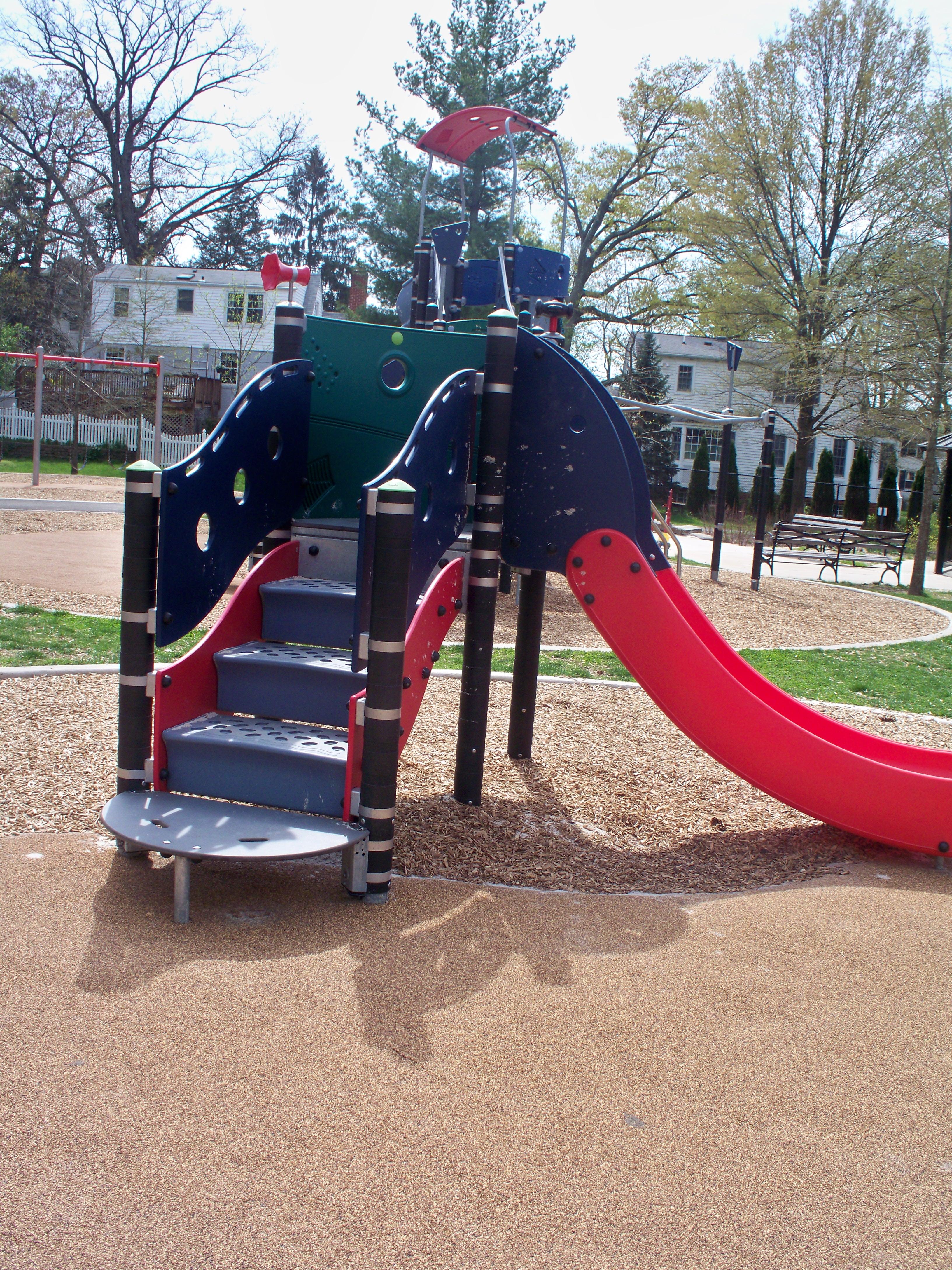 slides at Parkhurst Park
