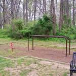 Brookvalley Park climbing and balancing equipment