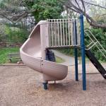 Spiral Slide at Windmill Hill Park
