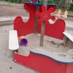 Ship Themed Sandbox at Windmill Hill Park