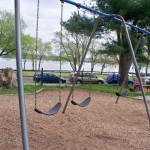 Swings at Windmill Hill Park