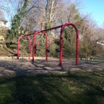 swings at Ridgeview Park