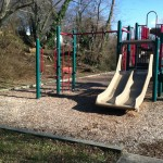 Slides at Ridgeview Park