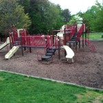 Play structure at Reston North Park