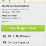 Eventbrite App Screen Capture
