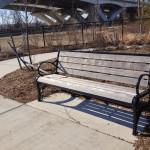 Bench at Jones Point Park