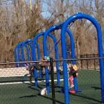 Swings and Baby Swings at Jones Point Park
