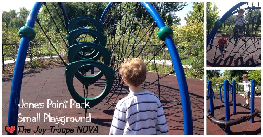 Jones Point Park Small Playground The Joy Troupe NOVA