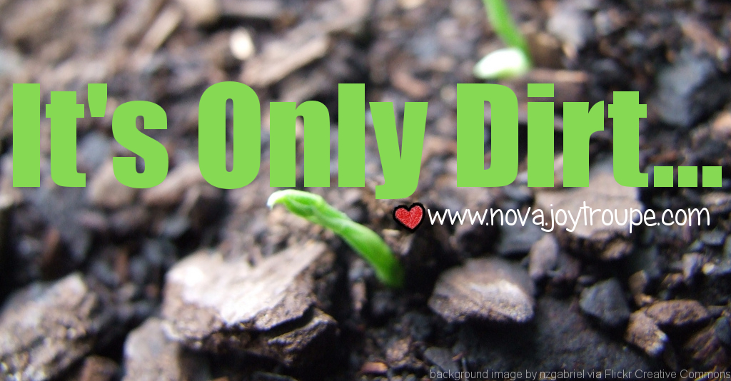 It's Only Dirt... but it can change the world in Northern VA. Garden with your kids!