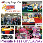 JBF Prince William Presale Pass giveaway!
