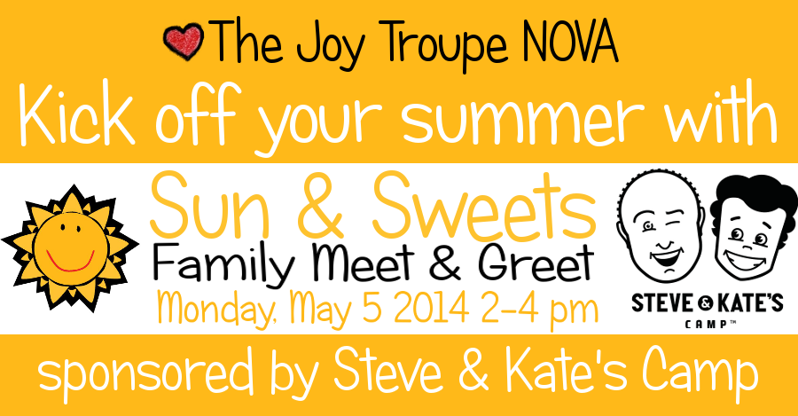 Sun & Sweets Family Meet & Greet sponsored by Steve & Kate's Camp