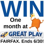 Giveaway: Four weeks of classes at Great Play of Fairfax! (ends 6/30)