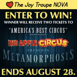 WIN Big Apple Circus Tickets! ends 8/28