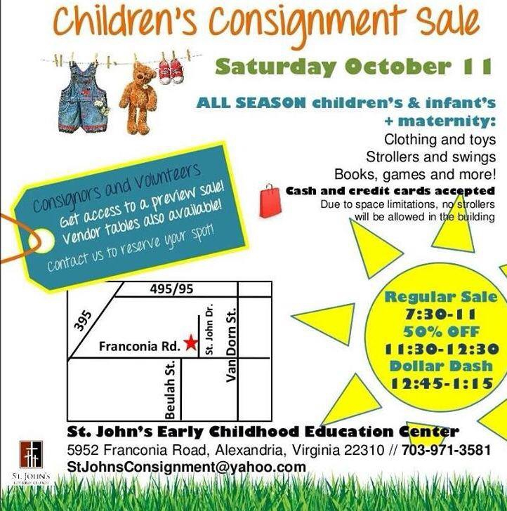 st johns consignment sale