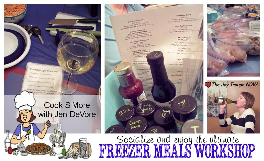 Cook S'More with Jen DeVore Freezer Meals Workshop