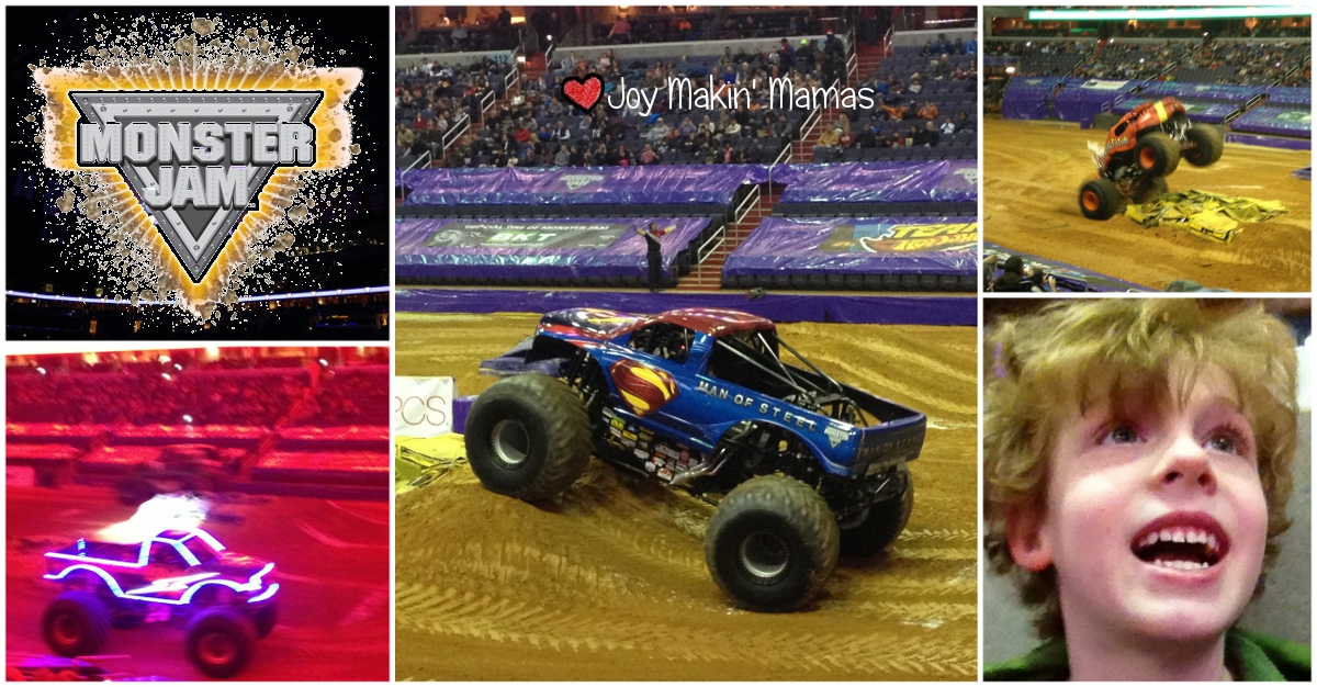 Monster Jam Returns to DC Verizon Center January 2015
