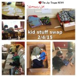 February's Kid Stuff Swap Meet may have been the biggest yet