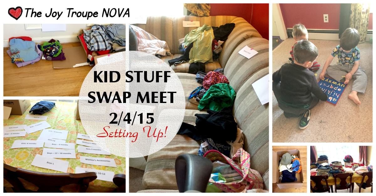 Kid stuff swap meet