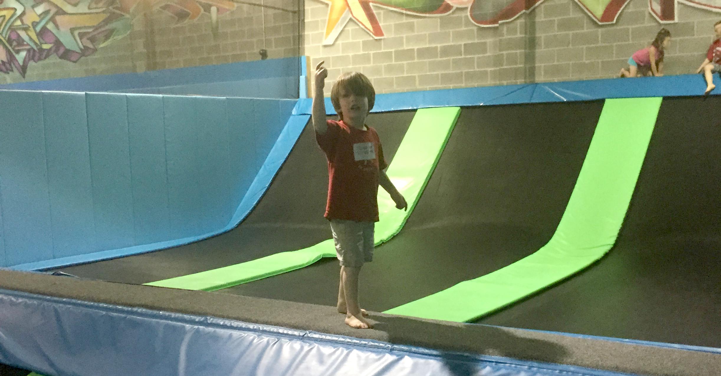 Jump up, jump down at Flight Trampoline Park The Joy Troupe NOVA