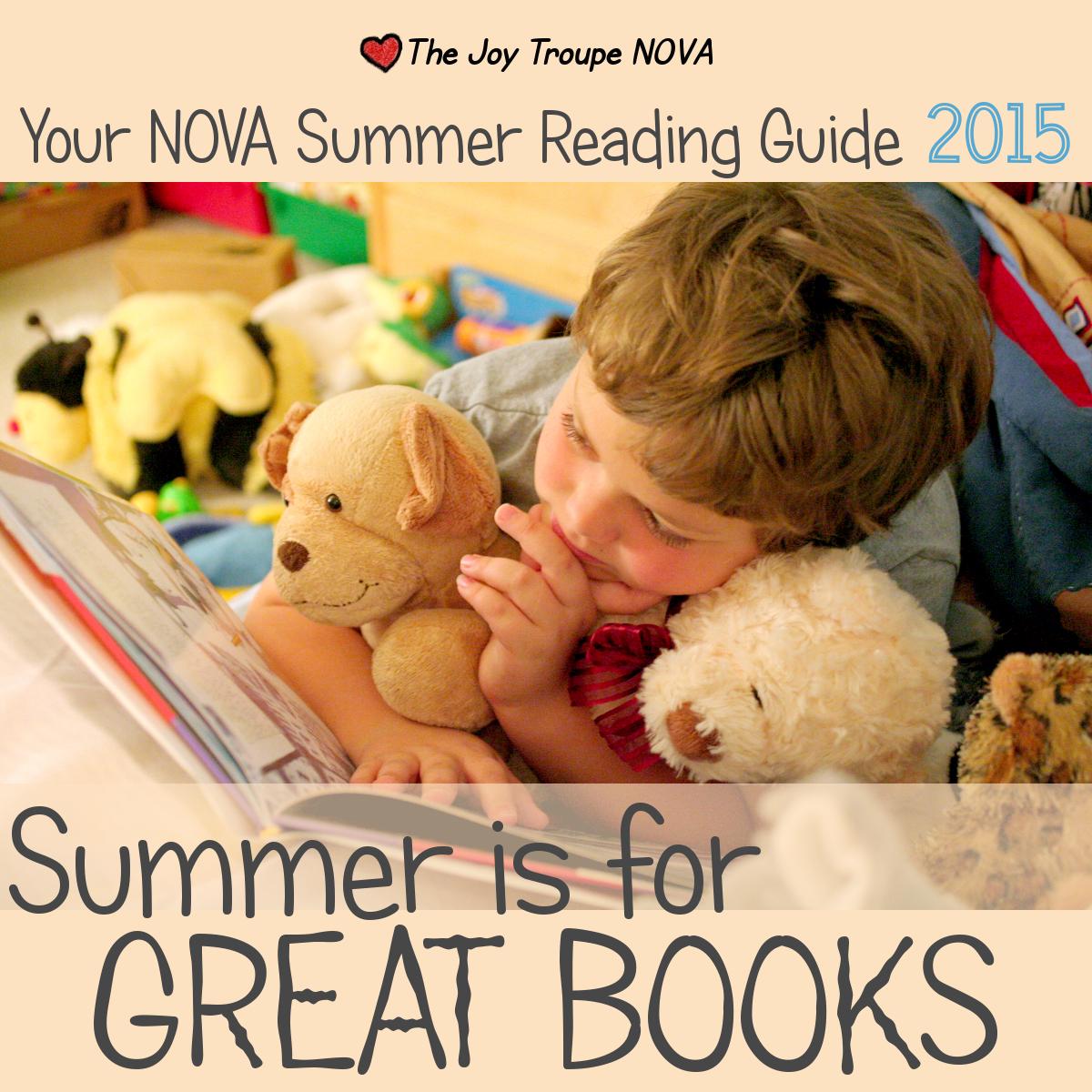 summer reading guide 2015 Joy Troupe NOVA