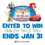 GIVEAWAY: Disney on Ice Presents Worlds of Fantasy